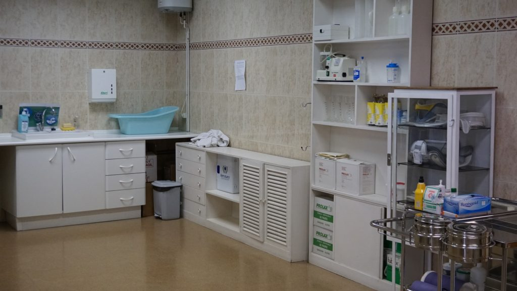 sala de enfermeria